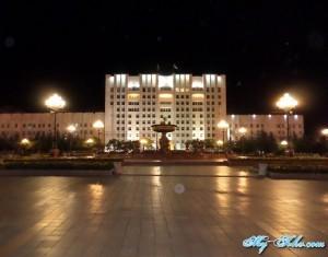 Ночная Фотографии 2013 года Площади ленина Хабаровска